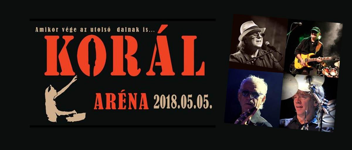Ugrás ide:Aréna-koncerttel ünnepel a 40 éves Korál